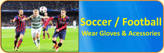 Soccer / Football Wear Gloves & Accessories