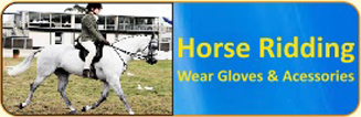 Horse Ridding Wear Gloves & Accessories