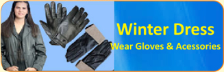 Winter Dress Wear Gloves & Accessories
