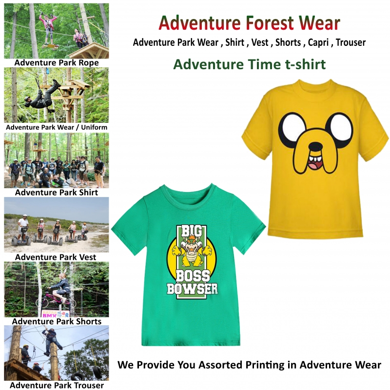 Adventure Time Adventure Printing T-Shirt