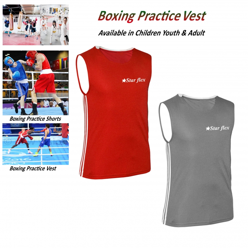 Boxing Practices polyester Silk vest