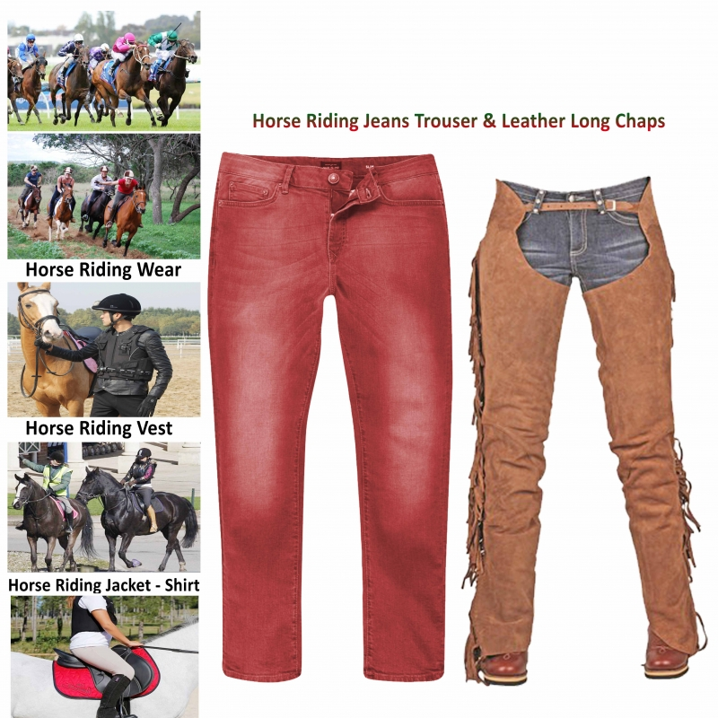 Horse Riding Trousers & Long Chaps