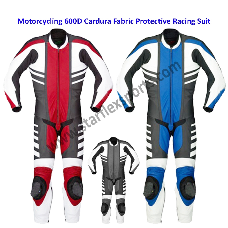 Motorcycle 600D Fabric Safety Suit