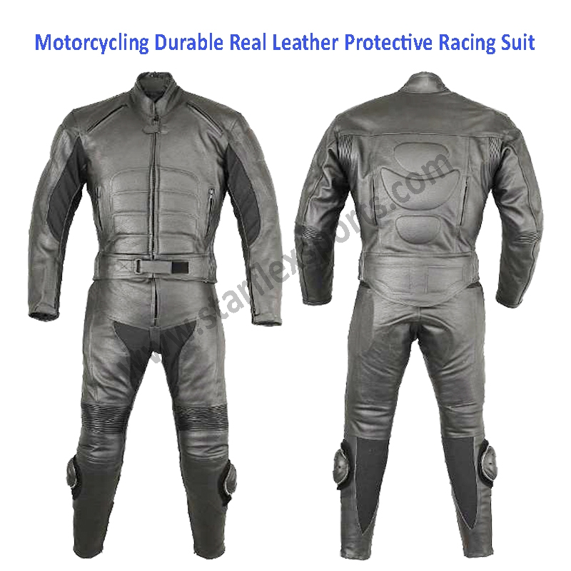 Motorcycle Leather Safety Suit