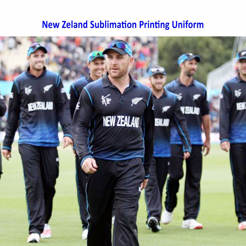 One Day & T-20 New Zealand Cricket Team Uniform