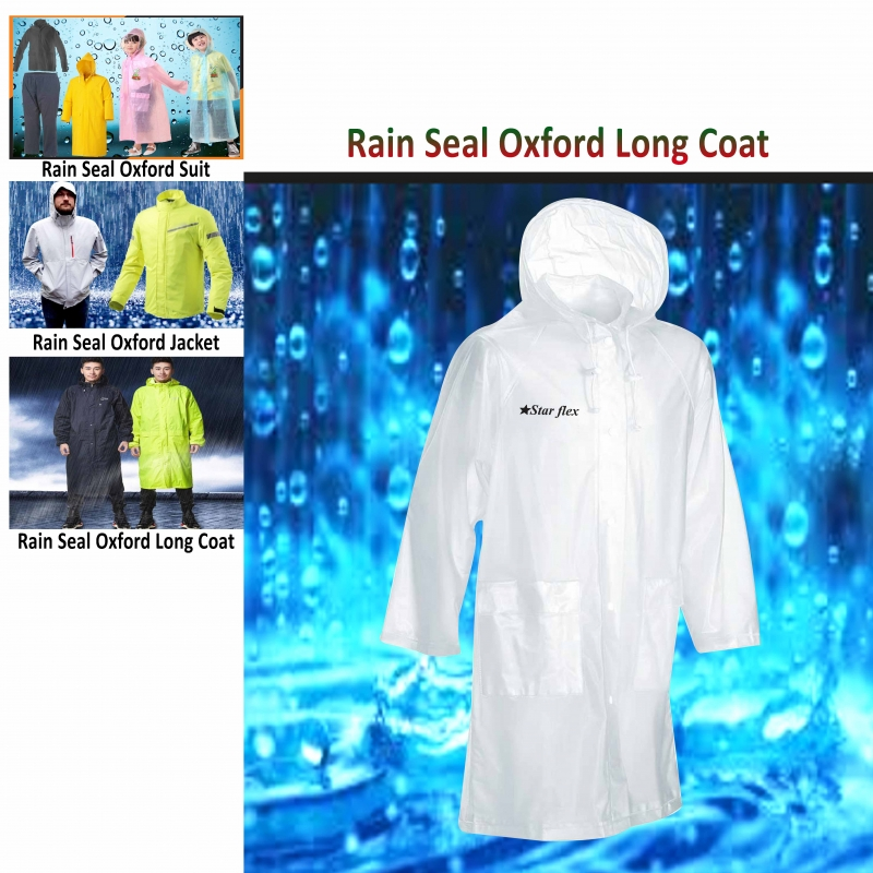 Rain Seal Oxford Long Coat