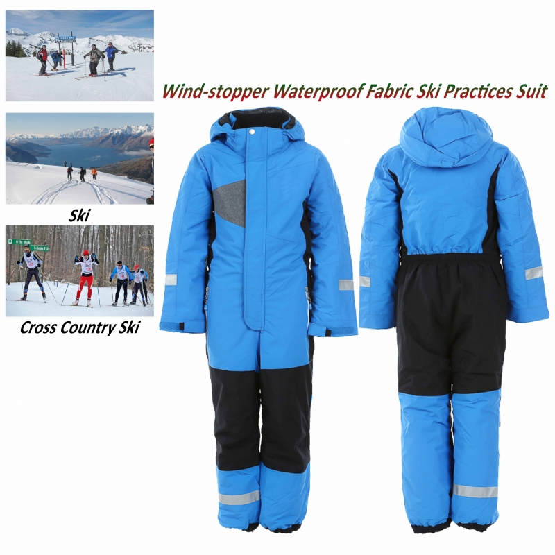 Wind-Stopper Ski Suit